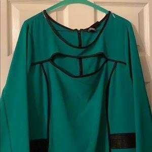 Green Lane Bryant dress